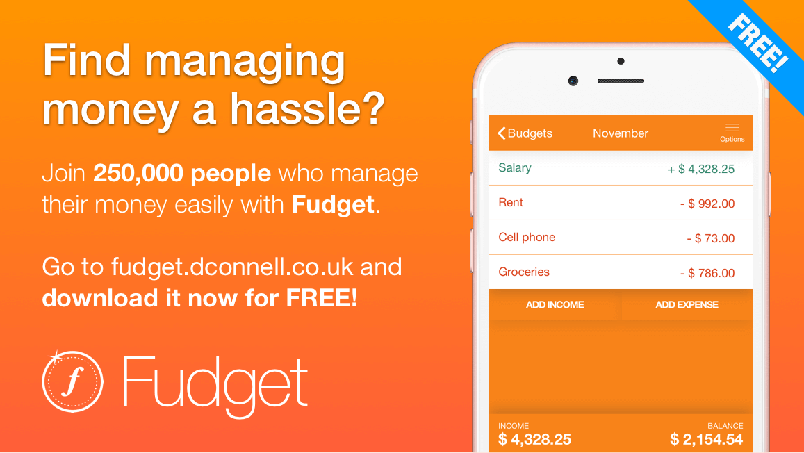 fudget the budget planner you can actually use for ios android